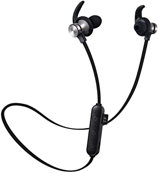 Miseku Neckband Wireless Bilateral Stereo Bluetooth Sport Headphones