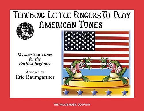 American Hymn Tune Music Book (Teaching Little Fingers to Play American Tunes - Book only: Early Elementary Level (Willis))