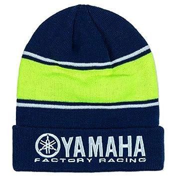 d2bdf4203e1 2018 VR46 Valentino Rossi  46 MotoGP Beanie Bobble Hat Yamaha Factory  Racing  Amazon.co.uk  Sports   Outdoors