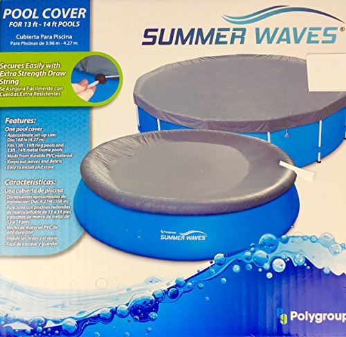 Summer Waves Pool Cover 13 14 Ft Pools