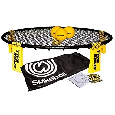 Spikeball Combo Meal - As Seen On Shark Tank TV - 3 Ball Set, Drawstring Bag, And Rule Book