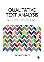 Qualitative Text Analysis: A Guide to Methods, Practice and Using Software Front Cover