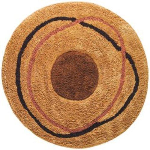 Dot Swirl Bath Rug - Creative Bath Products Dot Swirl Bath Rug, Multi-Color by Creative Bath