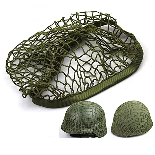 ourdoor product store MK2 M1 M35 Helmet Net Cover Army Green Replica WW2 WWII