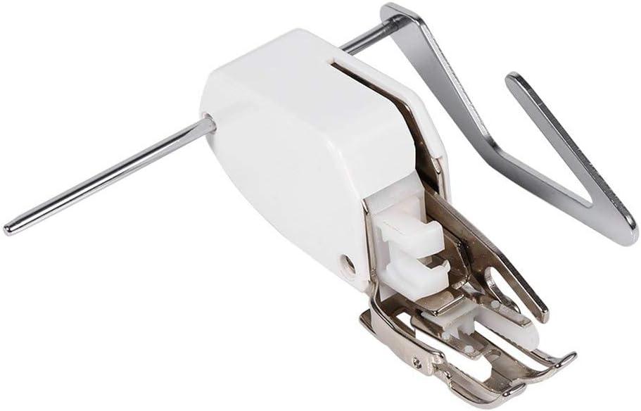 Wefond Prensatelas de pie con prensatelas para atornillar, incluso de alimentación profesional, para la máquina de ...