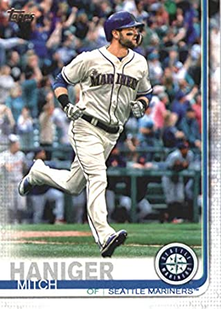 check out 139f7 3ee8a Amazon.com: 2019 Topps Series 1 Baseball #139 Mitch Haniger ...