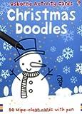 Christmas Doodles (Usborne Activity Cards)