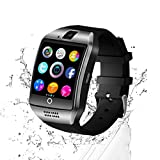 BJLWTQ Smart Watch Card Dial Phone Surface Screen Can Synchronize Asndroid Bluetooth Mobile Phone Men and Women Multi-Function Watch