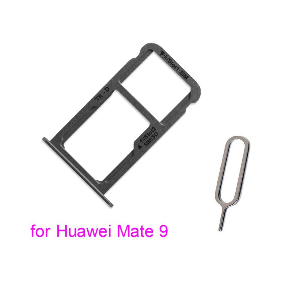 Sim Card Tray w Eject Pin for Huawei Mate 9 (Gray) by PHONSUN (Image #1)