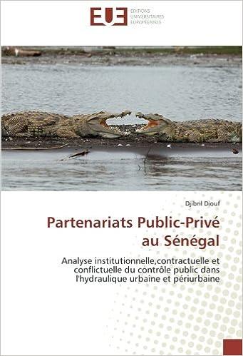 Book Partenariats Public-Privé au Sénégal: Analyse institutionnelle, contractuelle et conflictuelle du contrôle public dans l'hydraulique urbaine et périurbaine