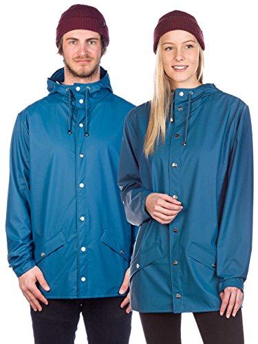 Rains Jacket Short Men's Blue Rain rpSrXg