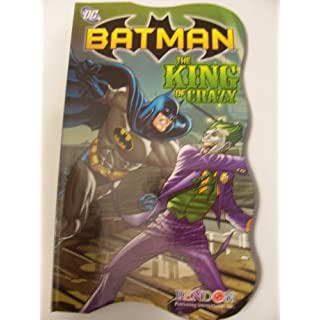 DC Comics Batman Shaped Board Book ~ The King of Crazy (2011)