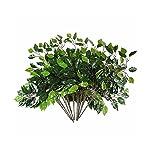 Mezly-Artificial-Silk-Ficus-Tree-Branches-Faux-Fake-Lamination-Green-Leaves-Arrangements-Anti-UV-Home-Garden-Office-Market-Restaurant-Wedding-Decor-12pcs