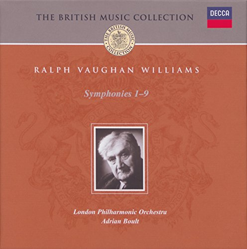 Vaughan Cd Album - Vaughan Williams: Complete Symphonies (5 CDs)