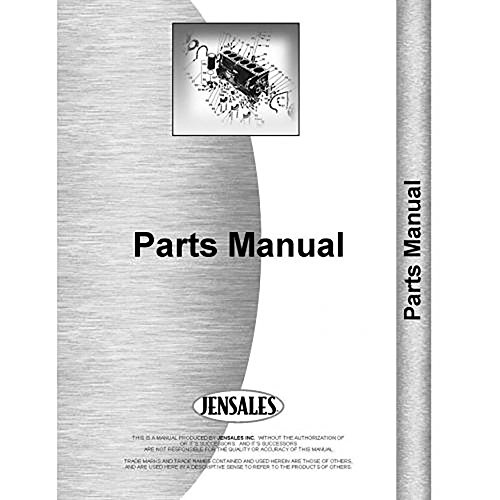 New Minneapolis Moline Jet Star Orchard Tractor Parts Manual (MM-P-JS ORCH) - Orch Parts