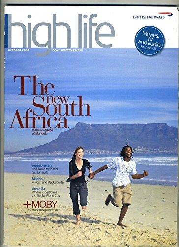 British Airways High Life Magazine October 2003 Last CONCORDE Issue (Vintage Airway Magazine)