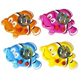 4.5'' CLOWN FISH WATER GAME, Case of 288