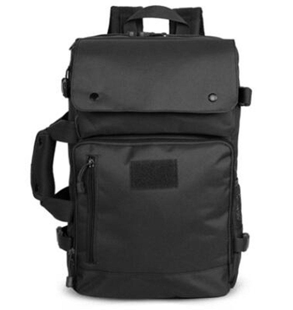 Noir  SHULING Sac à Dos D'épaule Extérieure Camouflage Tactical Mountaineebague sac à dos