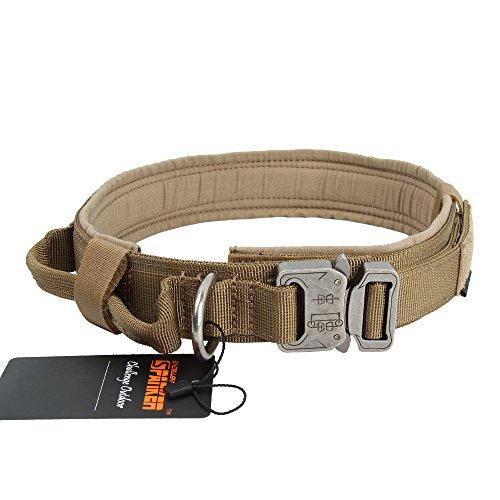 EXCELLENT ELITE SPANKER Tactical Dog Collar Military Trainin