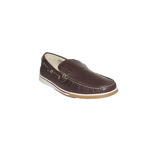 3 SUISSES MOCASÍN CKAKOY /373 Zapatos Mocasines Piel Hombre Marrón Elegantes Confort: Amazon.es: Zapatos y complementos