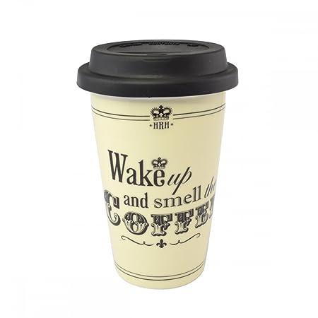 78786417b17 HRH Travel Mug - Wake Up And Smell The Coffee