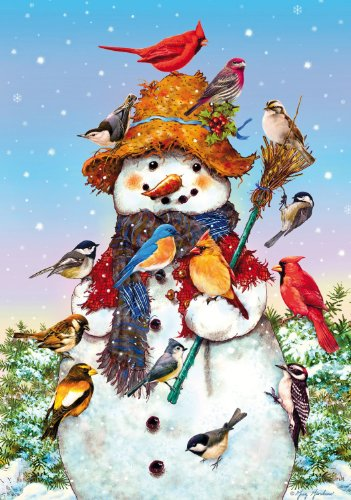 It's Snow Fun 500 Piece Wooden Jigsaw Puzzle