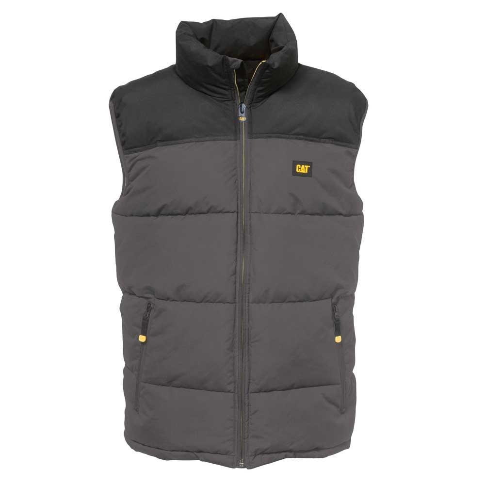 Caterpillar Men's Arctic Zone Vest , Graphite Black, 2X Tall