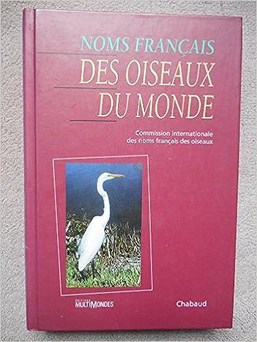 Livres gratuits Noms français des oiseaux du monde pdf