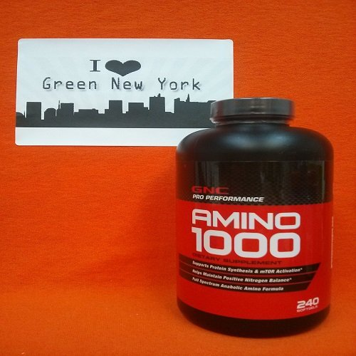GNC Pro Performance® aminés 1000 240 Softgel Capsules