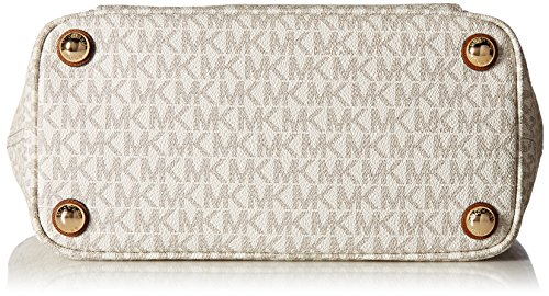 Michael Kors Mk Jet Set Signature Shoulder Bag, Vanilla , Large by Michael Kors (Image #4)