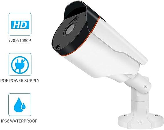 AOEIUV 1080P Cámara IP PoE IP IP66 Impermeable Exterior cámara de ...