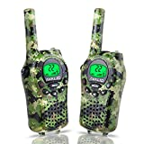 AVALID Walkie Talkies for Kids, 22 Channel FRS/GMRS Long Range 5KM Two-Way Radios
