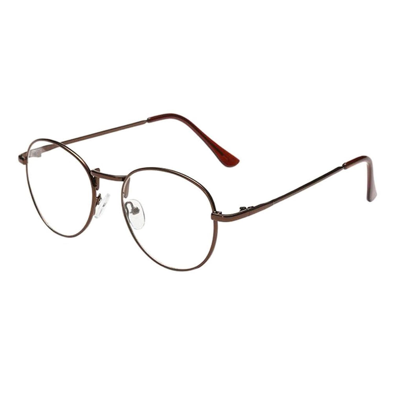 Xinvision Damen Herren Kurzsichtig Gläser,Jungen Mädchen Metall ...