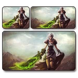 GW BladeÈðÎÄÓ¢thick oversized male league exile gaming mouse pad , 60 * 30 * 0.2 cm