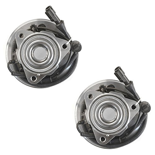 DRIVESTAR 515050 (Pair) Wheel hub & Bearing Assembly Front for Ford Explorer Lincoln Aviator Mercury Mountaineer 4 Door -