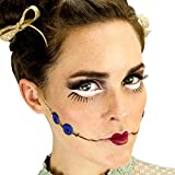 Woochie Classic Latex Appliances - Professional Quality Halloween Costume Makeup - Buttons