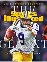 Joe Burrow 16x20 Sports Illustrated Cover LSU Tigers Geauxt Poster Print Photo