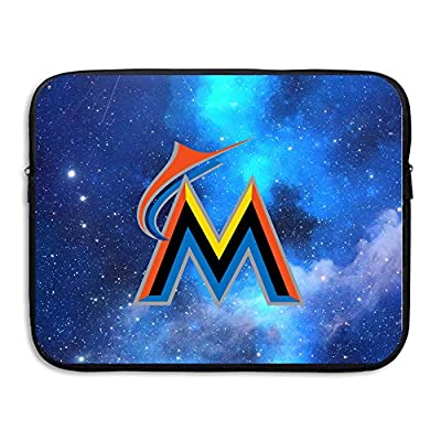 ZOENA Miami M Logo Marlins Shock-Resistant Tablet Zipper Case 13-15 Inch