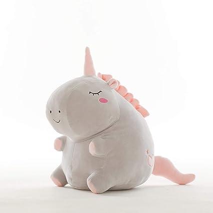 JEWH Unicorn Plush Toy Fat Unicorn Doll Cute Animal Stuffed Unicornio Soft Pillow Baby Kids Toys