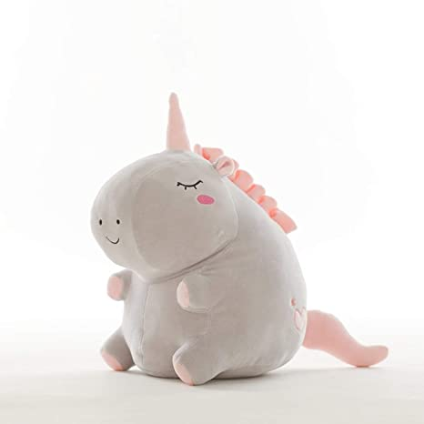 JEWH Unicorn Plush Toy Fat Unicorn Doll Cute Animal Stuffed Unicornio Soft Pillow Baby Kids Toys