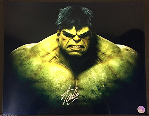 STAN LEE SIGNED INCREDIBLE HULK 16X20 PHOTO MARVEL SPIDERMAN HOLOGRAM PROOF J47