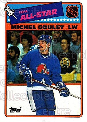 (CI) Michel Goulet Hockey Card 1988-89 Topps Stickers Insert 7 Michel Goulet
