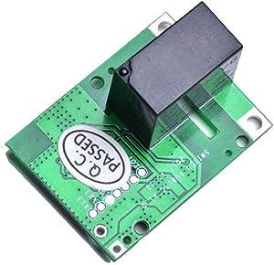 WSDMAVIS 1 Pcs RE5V1C WiFi Switch DC 5V Inching Self Locking Wireless Smart Relay Module DIY Smart Home Automation Modules APP Remote Control Switch