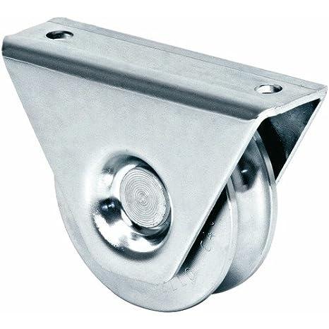Ruedas, ruedas de puertas correderas con soporte, para Rail 8,5 mm: Amazon.es: Bricolaje y herramientas