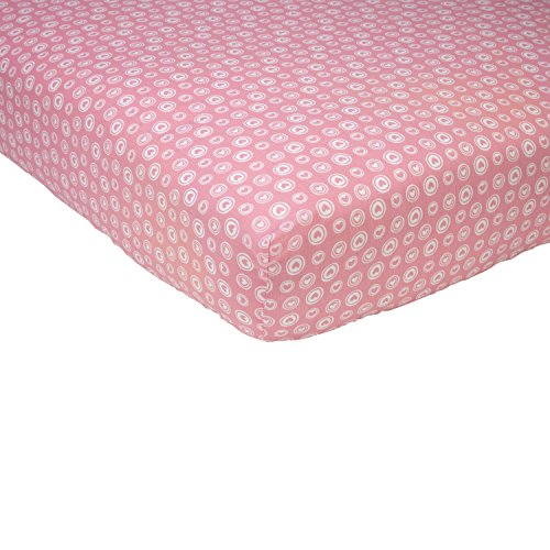Girl Scout Backgrounds (Sadie & Scout Chelsea - Pink and White Heart Crib Sheet)