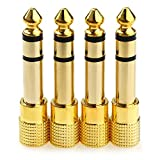 NANYI 1/4'' to 3.5mm Stereo Headphone Adapter for