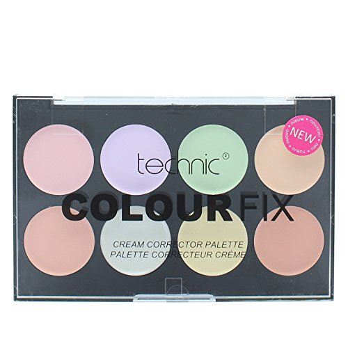 Technic Colour Fix Cream 8 Colour Corrector Palette (Corrector Color A For)