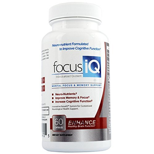 Focus iQ - Natural Neurological Supplement with Vinpocetine by High T