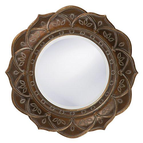 Howard Elliott 37013 Erica Mirror (Large Round Decorative Mirror)