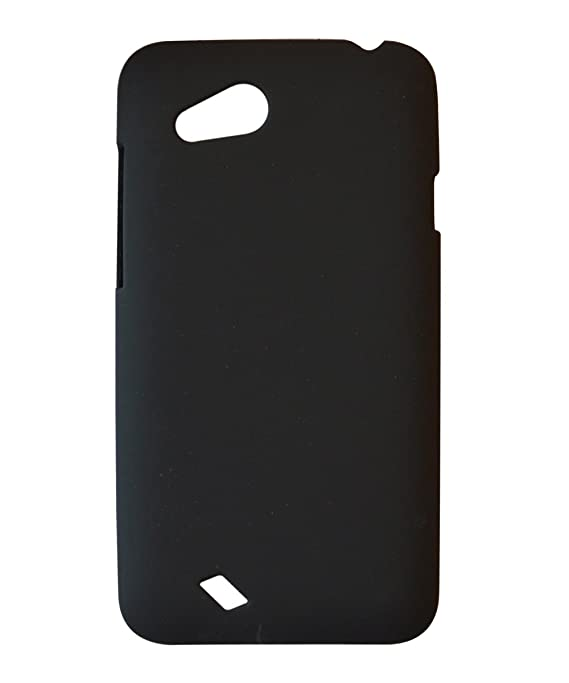 reputable site 70e11 38ed8 COVERNEW Back Cover for HTC Desire VC T328D-Black: Amazon.in ...
